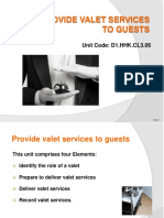PPT Provide Valet Services 300812