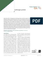 Cystic Fibrosis – a Multiorgan Protein