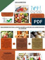 Procedimientos Para La Buena Manipulación de Los Alimentos