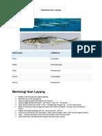 Klasifikasi Ikan Layang