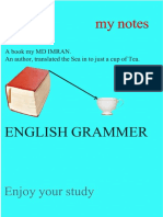 English Grammer Summary