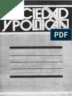 Revista Sociedad y Politica