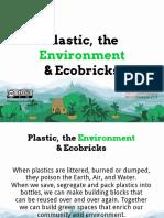 Plastic the Enviroment Ecobricks Beta v0.9.2