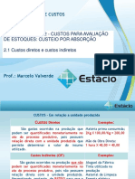 Aula de Custos Industriais