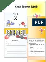 LKPD bentuk molekul
