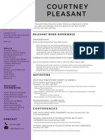 courtney pleasant resume may 2019