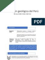 Evolución Geológica Del Perú Undac