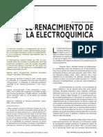 El Nacimiento de La Electroquimica