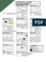 1011 Calendar