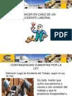 Accidentes Del Trabajo y Trayecto