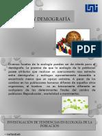 Ecología y Demografía