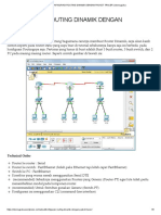 Konfigurasi Routing Dinamik Dengan Packet Tracer