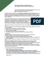 NR 13 Requisitos de Auditorias NR 13 e SPIE