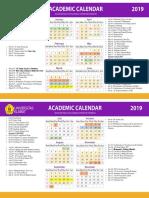 Kalender academic