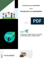 PPT Introducciónalaempleabilidad Clase 1 y 2