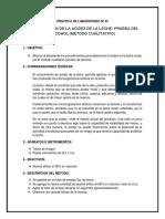 Practica de Laboratorio Nº 02.Docx Leches