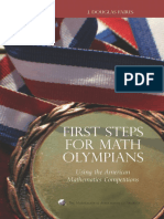 (MAA Problem Book Series) J. Douglas Faires - First Steps for Math Olympians_ Using the American Mathematics Competitions (Problem Books)-The Mathematical Association of America (2006)