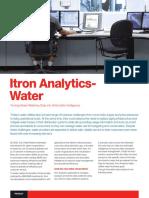 Itron Analytics Water