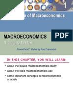 Mankiw Chapter 1 Science of Macroeconomics