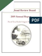 Texas Bond Review Board 2009 annual report