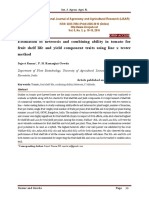 Estimation of heterosis and combining ability in tomato for fruit shelf life and yield component traits using line x tester method