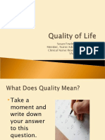 Quality of life.ppt