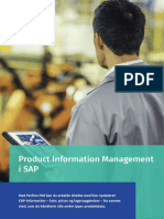 Perfion Product Information Management (PIM) i SAP