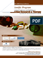 PARfessionals Addiction Therapy International Conference  Program July 31, 2014