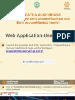 AnnadathaSukhibhava Web App User Manual