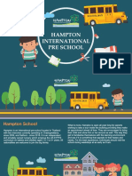Hampton International Pre-School - International Kindergarten School