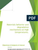 07. Materials Behavior and Degradation Mechanisms at High Temperatures