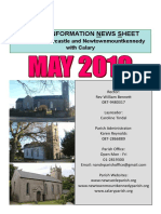 May 2019 News - Parish of Newcastle & Newtownmountkennedy with Calary, Co. Wicklow, Ireland