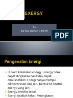 PPT EXERGY