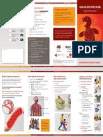 Hypertension Brochure