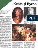 Shelley, Keats si Byron