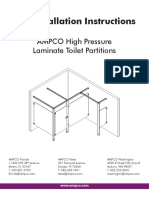 High Pressure Laminate (HPL) Installation Instruction