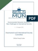 Disarmament BERLIN MUN