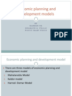 Managerial Economics_Economic planning and development models
