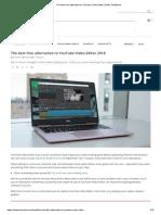 The best free alternative to YouTube Video Editor 2018 _ TechRadar.pdf