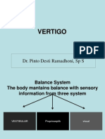 Management of Vertigo