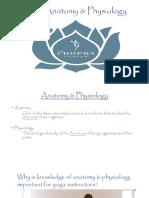 Yoga Anatomy Physiology by Chopra