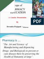 Scope of pharmacy