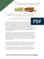 Primer for Tricks to Laddering 1