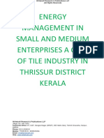 Energy Management in Small and Medium Enterprises a Case of Tile Industry in Thrissur District Kerala [www.writekraft.com]