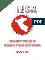 Reglamento Interno de Seguridad y Salud en el Trabajo - 2015 (Corporativo).docx