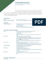 Currículo Do Sistema de Currículos Lattes (Vinicius Alexandre Sikora de Souza)