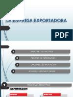 1. La Empresa Exportadora