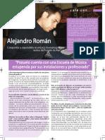 Entrevista a Alejandro Román - Vive Pozuelo