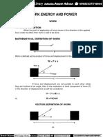 11 Physics Notes 04 Work Energy Power