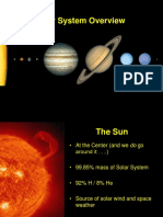Solar Sys Overview